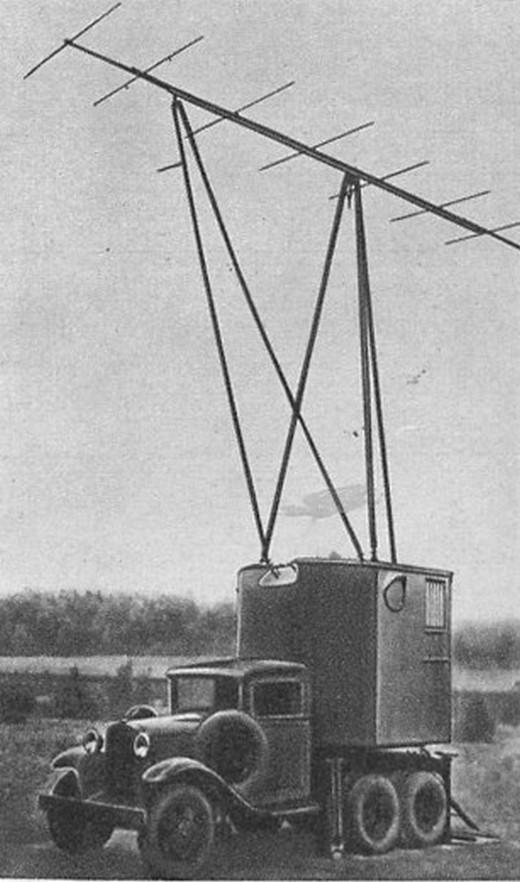 Станция дальнего обнаружения «РУС-2» (излучающая установка)