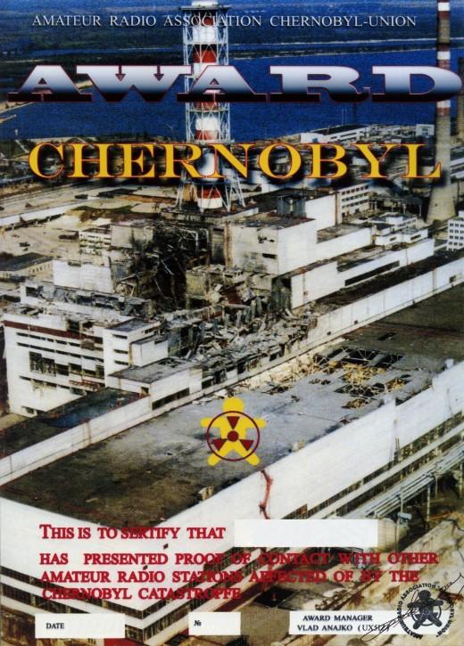 AWARD CHERNOGYL