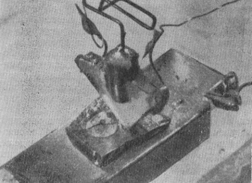 Первый твердотельный транзистор