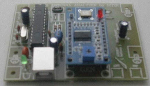 Анализатор КВ-антенн с USB интерфейсом и программой