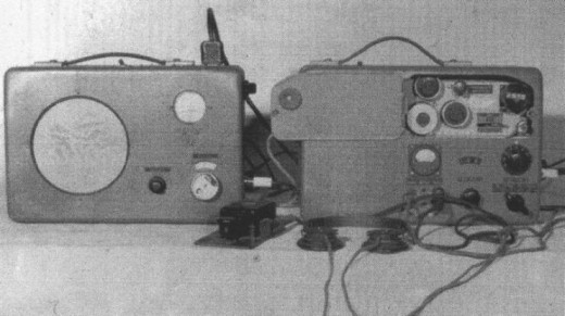 «RS 20M» (слева - приёмник «R 3»).