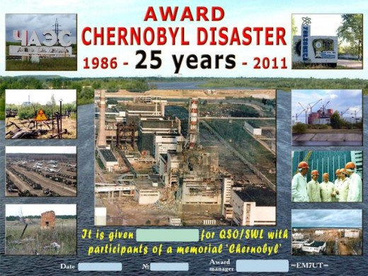 "Диплом ""Chernobyl disaster"""