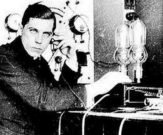 Э. Тигерстед – первый радиолюбитель
