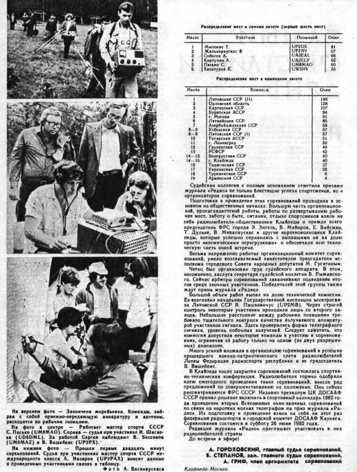 history taught extramural competitions hf year 1981 002