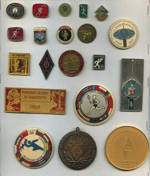 znachki zhetony i medali iz lichnoj kollektsii uy5xe 01
