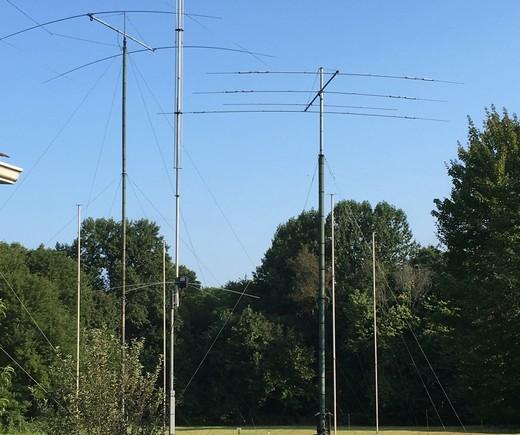 antenna field of vasily voly k3zu earlier ua6dj ua6an 2