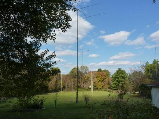 antenna field of vasily voly k3zu earlier ua6dj ua6an 7