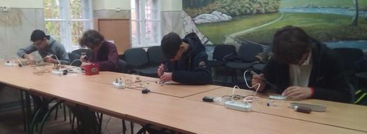 open regional competitions of student youth with high speed assembly of radio equipment 01